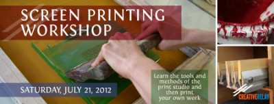Screen Print Workshop Boston