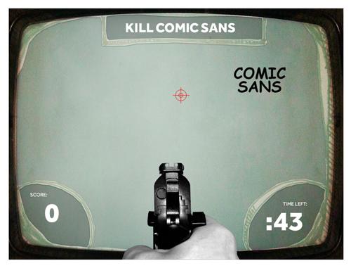 Kill Comics Sans