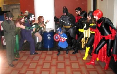Batman heroes and villains