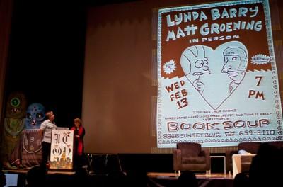Lynda Barry & Matt Groening